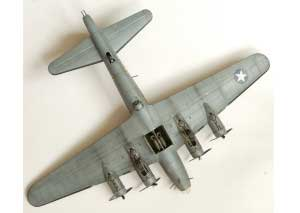 Model plane B-17F Memphis Belle (11)