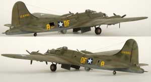 Model plane B-17F Memphis Belle (12)