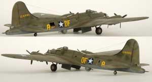 Model plane B-17F Memphis Belle (12)