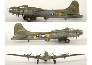 Model plane B-17F Memphis Belle (14)