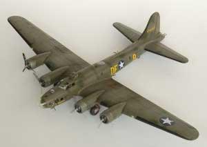 Model plane B-17F Memphis Belle (3)