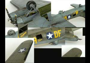 Model plane B-17F Memphis Belle (5)