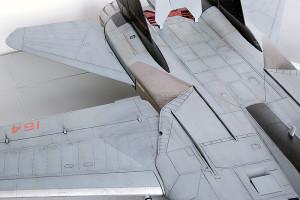 Plastic model airplane kit. F-14D (28)