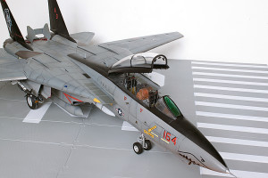Plastic model airplane kit. F-14D (30)