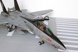 Plastic model airplane kit. F-14D (30)