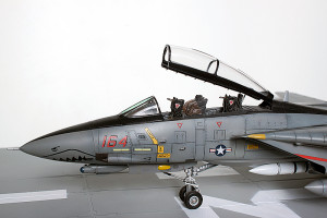 Plastic model airplane kit. F-14D (31)