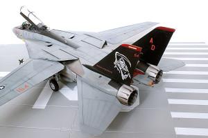 Plastic model airplane kit. F-14D (34)