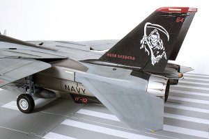 Plastic model airplane kit. F-14D (35)