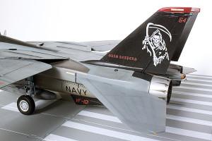 Plastic model airplane kit. F-14D (35)
