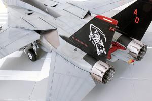 Plastic model airplane kit. F-14D (36)