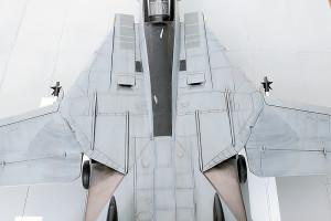Plastic model airplane kit. F-14D (38)