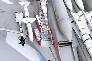 Plastic model airplane kit. F-14D (41)