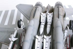 Plastic model airplane kit. F-14D (44)