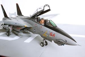 Plastic model airplane kit. F-14D (45)