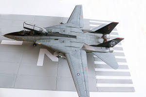 Plastic model airplane kit. F-14D (48)