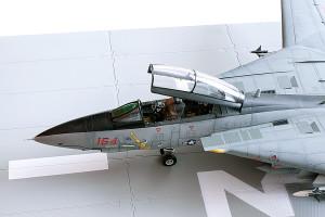 Plastic model airplane kit. F-14D (49)
