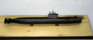 Submarine model kit USS Nautilus (10)