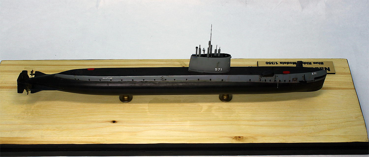 submarine model kit uss nautilus ssn