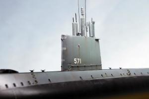 Submarine model kit USS Nautilus (14)