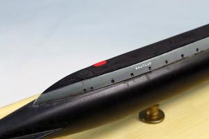 Submarine model kit USS Nautilus