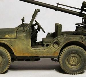 military model car