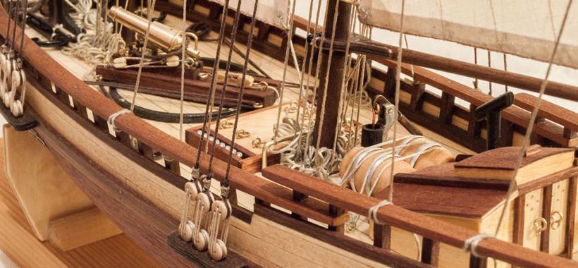 Virginia 1819, Artesania Latina ship model