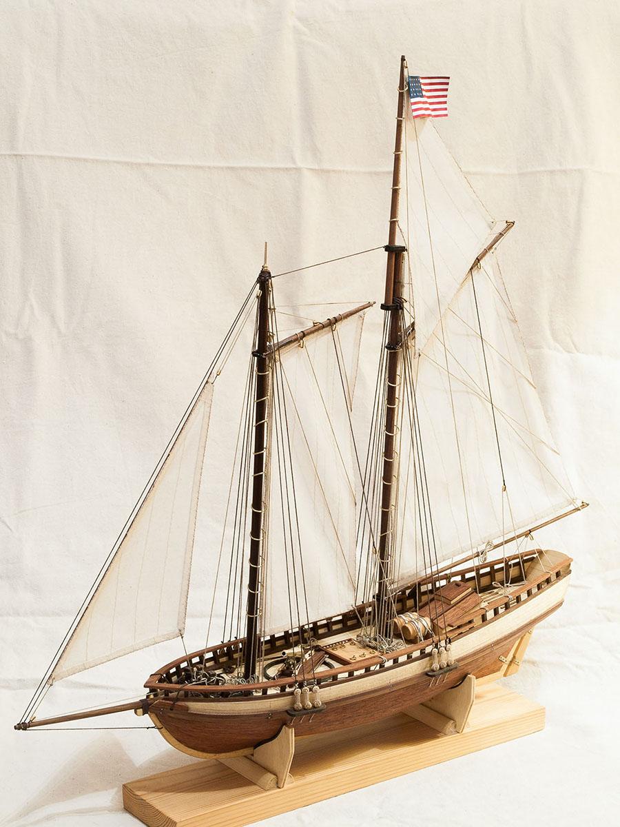 model schooners Virginia 1819