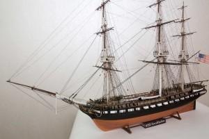 USS Constitution model