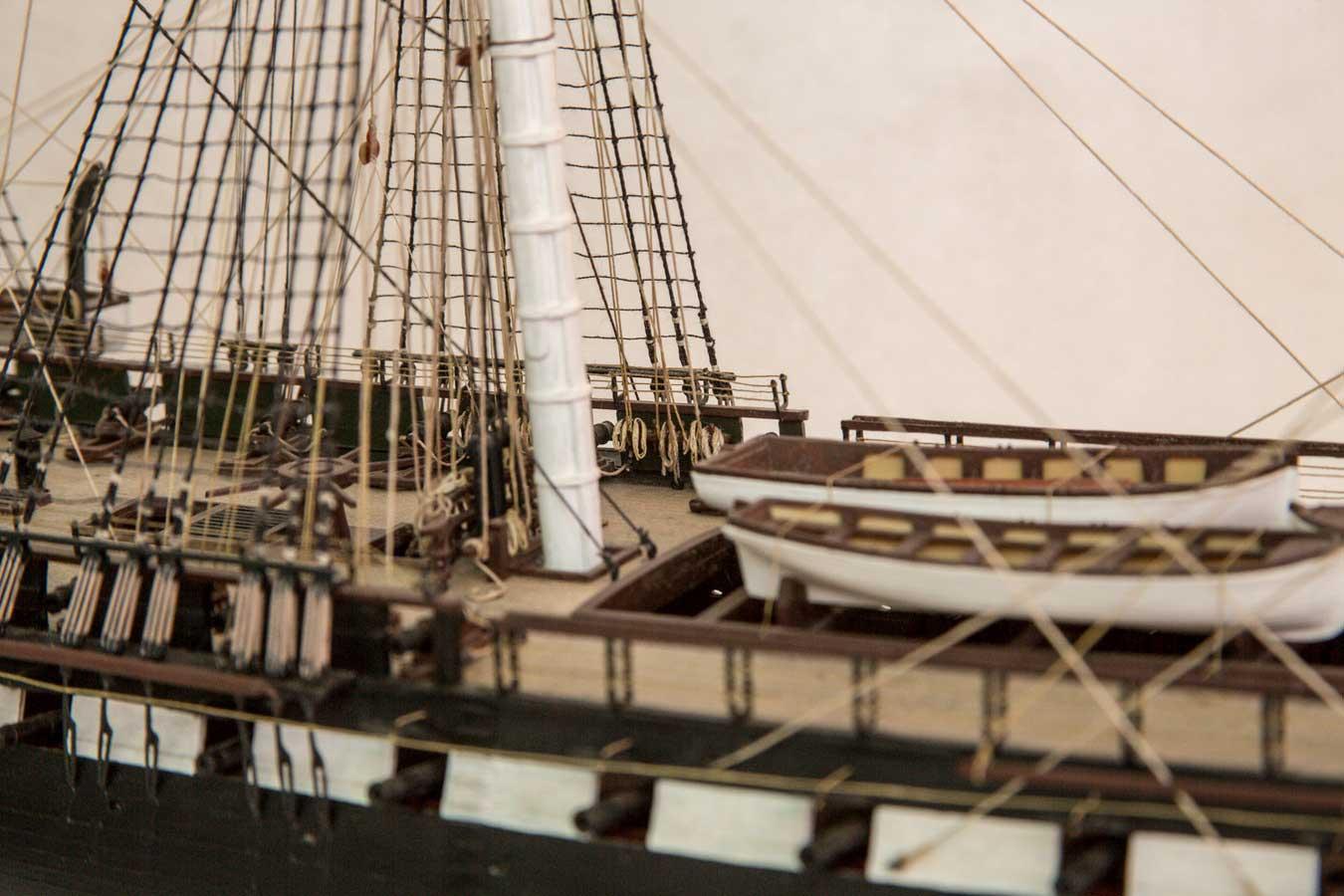 RevellMonogram USS Constitution Plastic Model Sailing