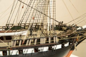USS Constitution model from Revell