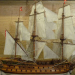 wooden ship model Norske Love (1)