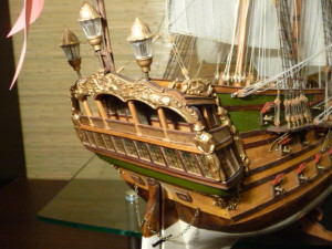 wooden ship model Norske Love (10)
