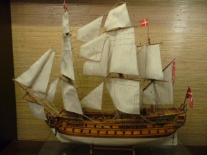 Wood model ship kit 74-gun battleship Norske Love
