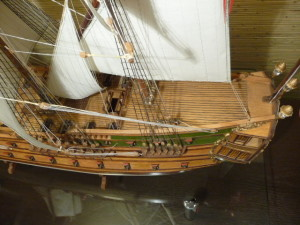 wooden ship model Norske Love (15)
