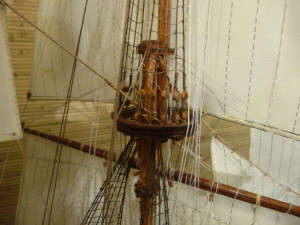 wooden ship model Norske Love (16)