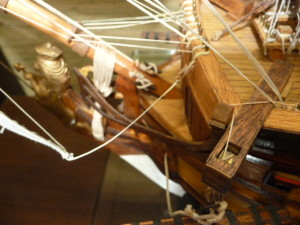 wooden ship model Norske Love (18)