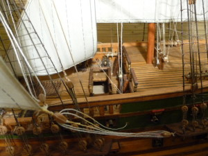 wooden ship model Norske Love (19)
