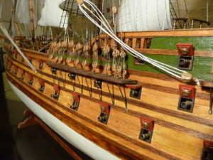 wooden ship model Norske Love (2)