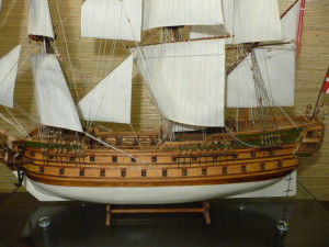 wooden ship model Norske Love (20)