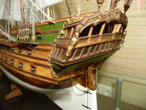 wooden ship model Norske Love (22)