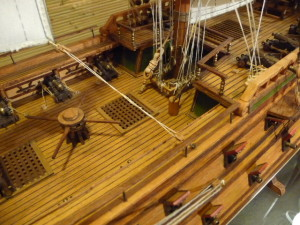 wooden ship model Norske Love (23)