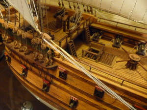 wooden ship model Norske Love (24)