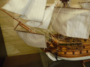 wooden ship model Norske Love (25)