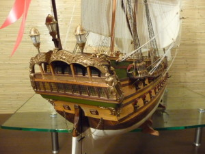 wooden ship model Norske Love (26)
