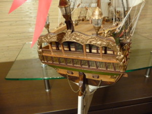 wooden ship model Norske Love (27)
