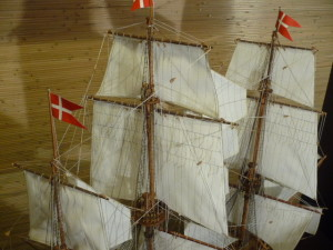 wooden ship model Norske Love (28)