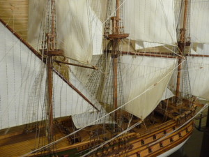 wooden ship model Norske Love (29)