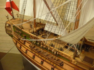 wooden ship model Norske Love (3)