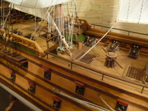 wooden ship model Norske Love (31)