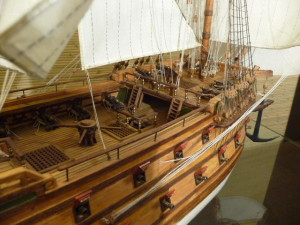 wooden ship model Norske Love (32)